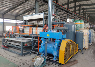 Automatic Rotary Paper Egg Tray Machine , pulp molding egg carton making machine 2000-8000pcs/h