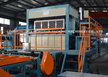Chine machine de moulage de plateau d'oeufs de la pulpe 4000pcs/hr, plateau d'oeufs formant la machine usine